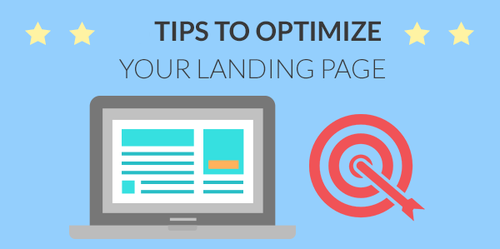 Optimization tips of landing page