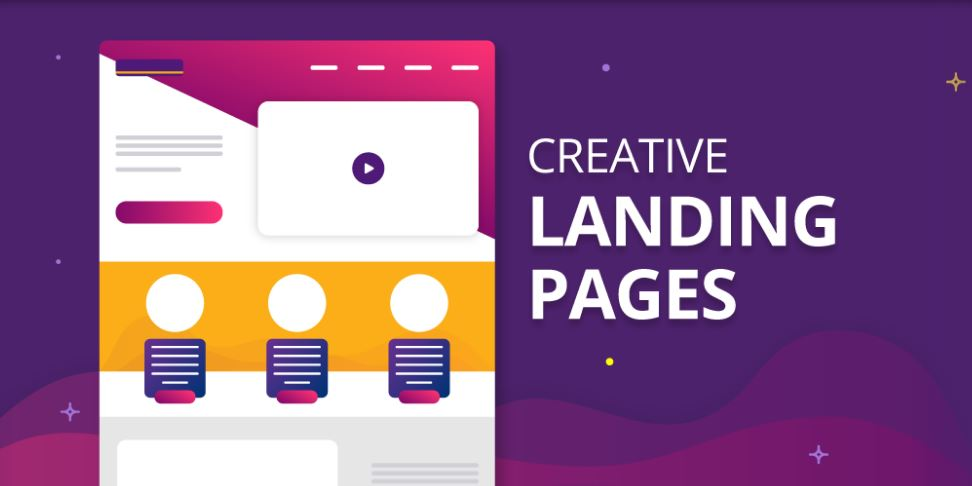 responsive landing page for content campaign
