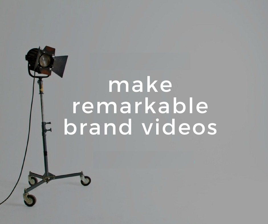 create brand video for marketing